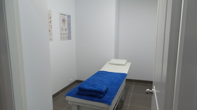 Massage therapy treatment rooms at Activ Therapy Liverpool