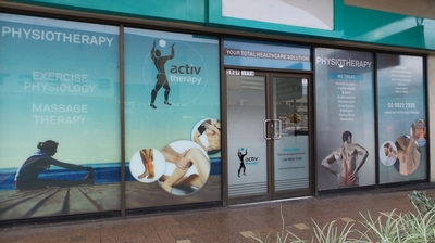 Activ Therapy Liverpool on corner of George and Elizabeth Streets Liverpool