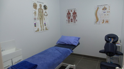 Physiotherapy and chiropractic treating rooms